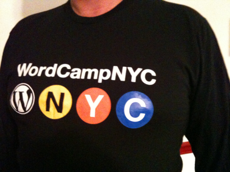 WordCamp NYC shirt, Men's L