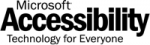 Microsoft Accessibility logo